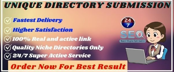 Submit 25+ Unique Directory Submission Service