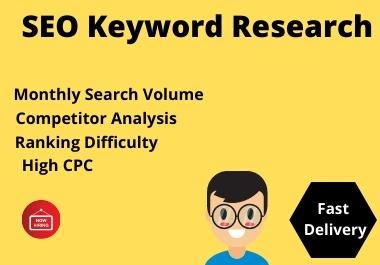 Do 35 keyword Research that actually ranks