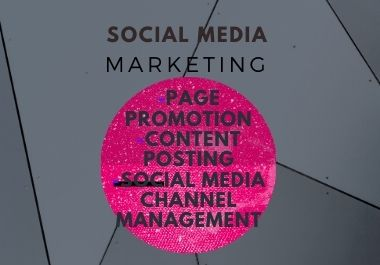 We manage your Social Media Business Page