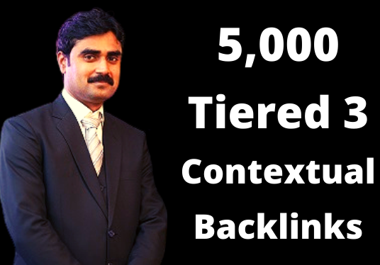 I will build 5000 ultra SEO tiered contextual backlinks