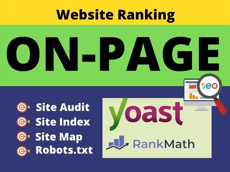 Best On-Page SEO Optimize WordPress website