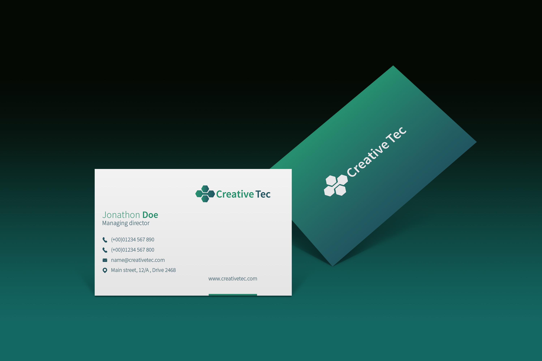 I will create Unique,  professional business card design