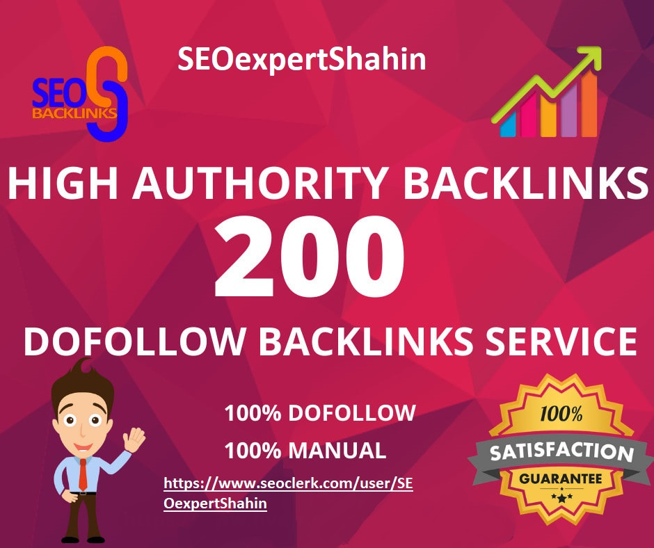 I will create 200 high authority dofollow blog comment backlinks