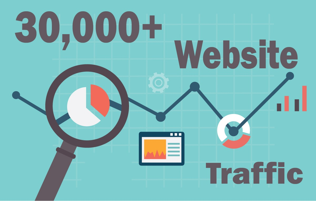 30,000 keyword targeted traffic from google