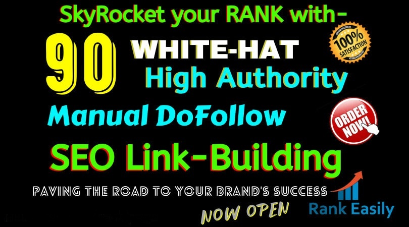 I will build 90 high authority USA dofollow seo backlinks service for you,  link building