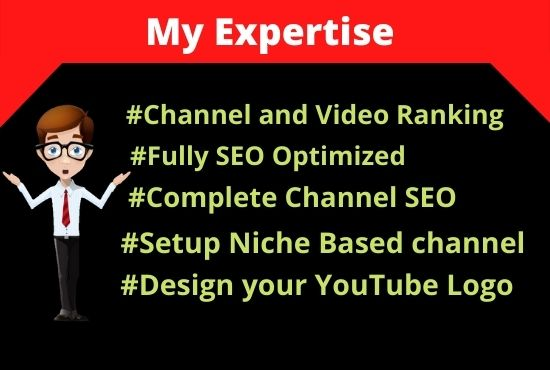 I will optimize video seo on first page rank