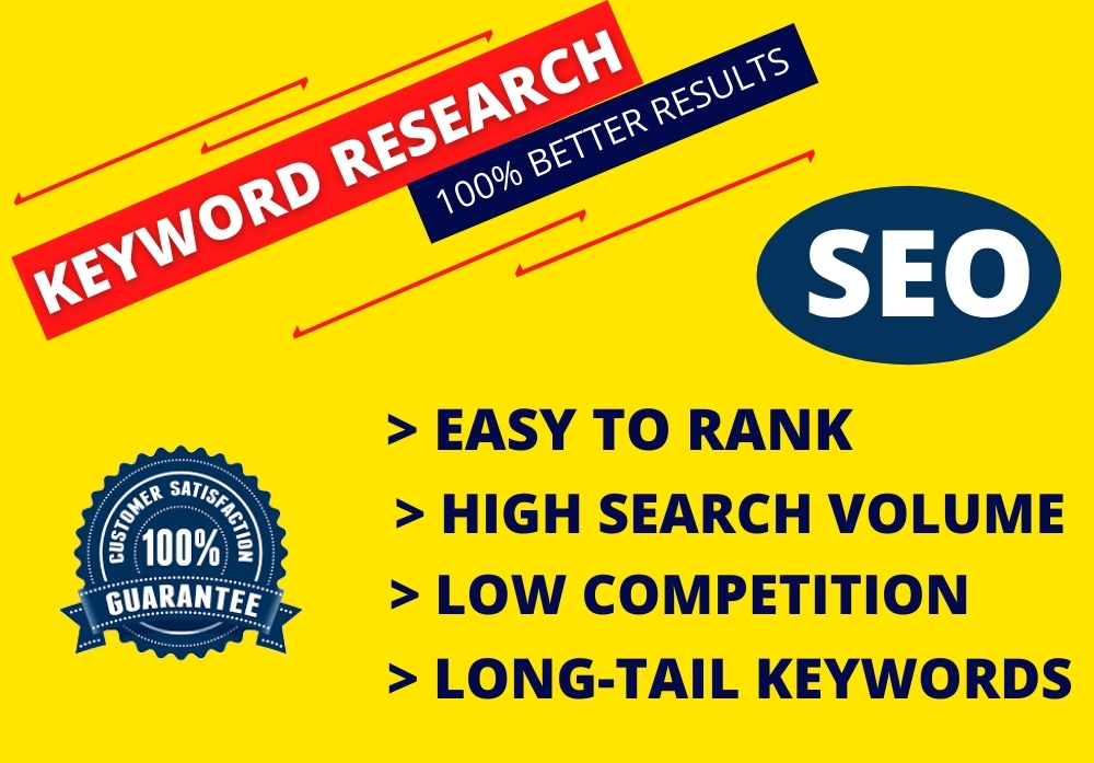 I will do the best SEO keyword research for your niche