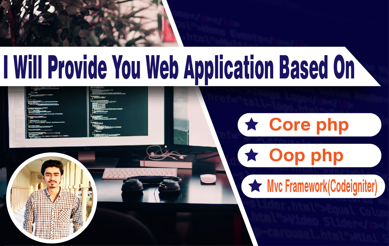 I Will Create Dynamic Web Applications & Softwares For Your Business Or Organization