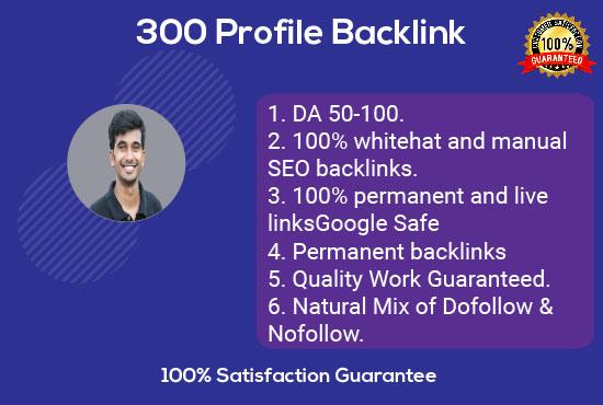 I will do High DA Profile Backlink