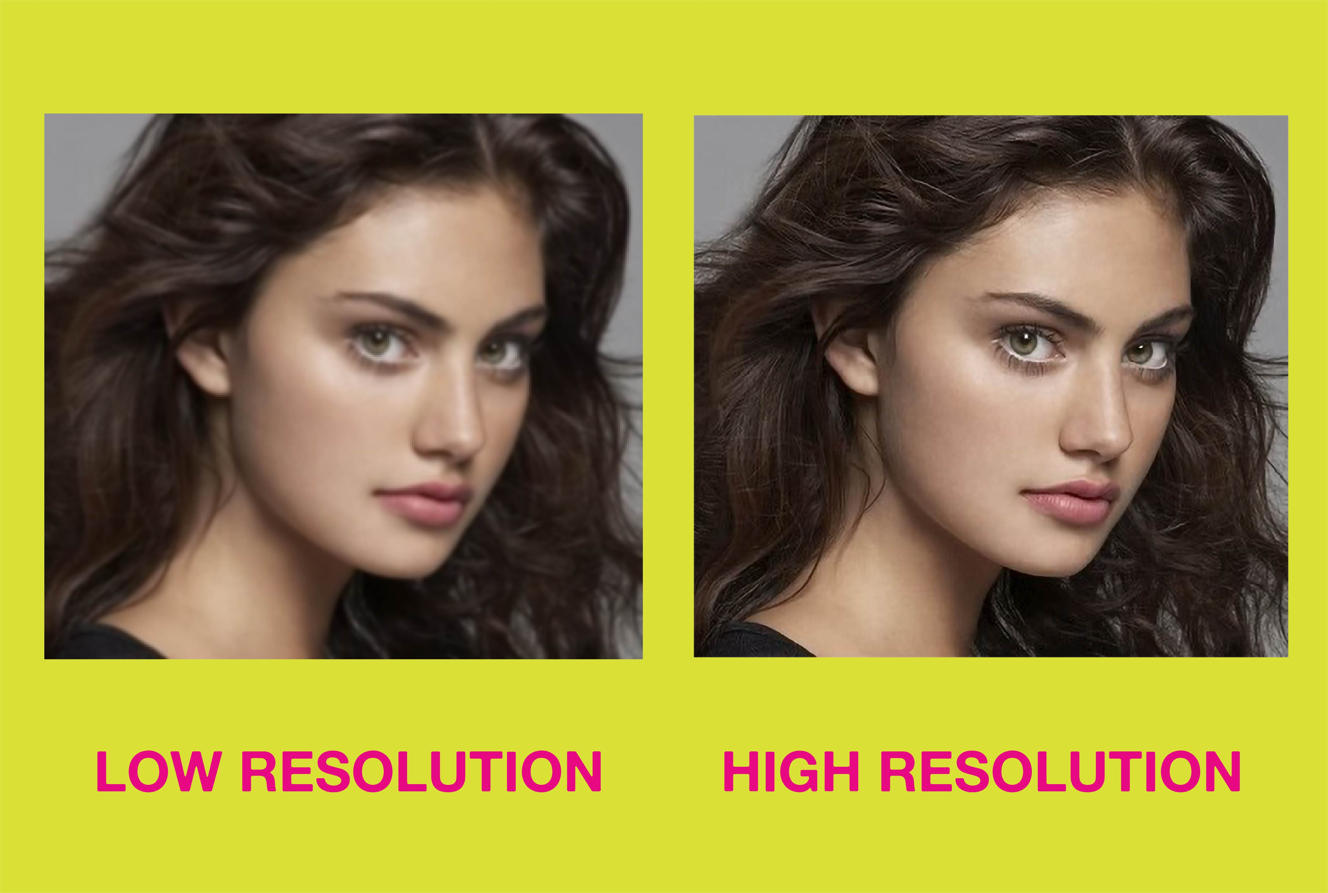 I will convert low resolution image to hd high resolution 300 dpi