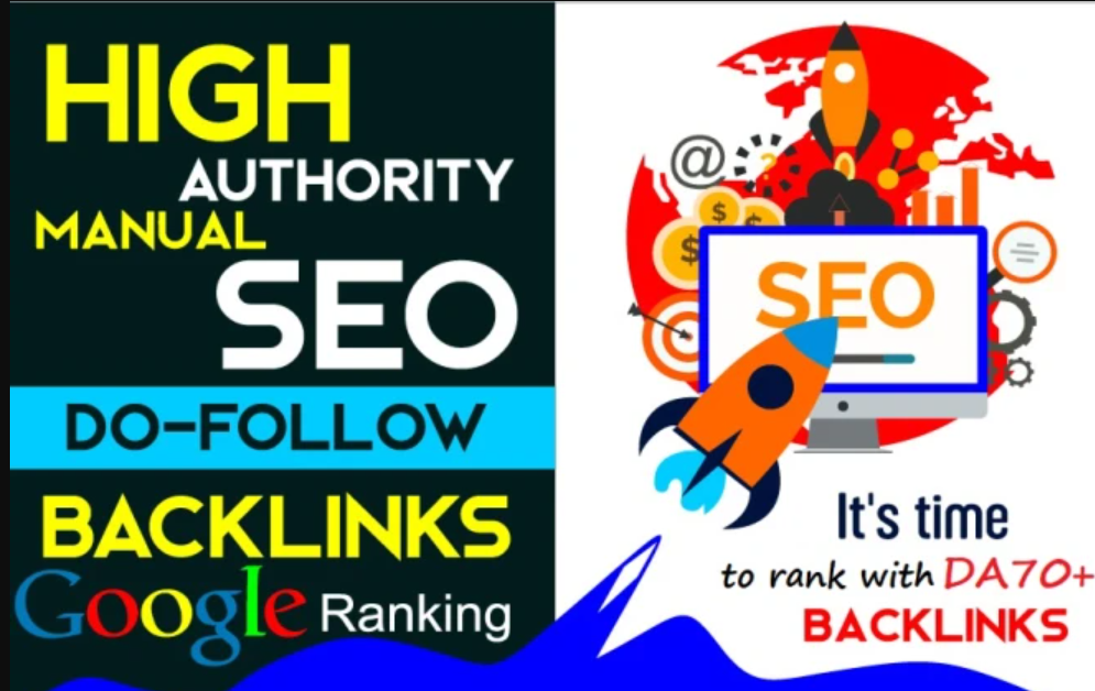 i will high authority DR 60 dofollow backinks for seo