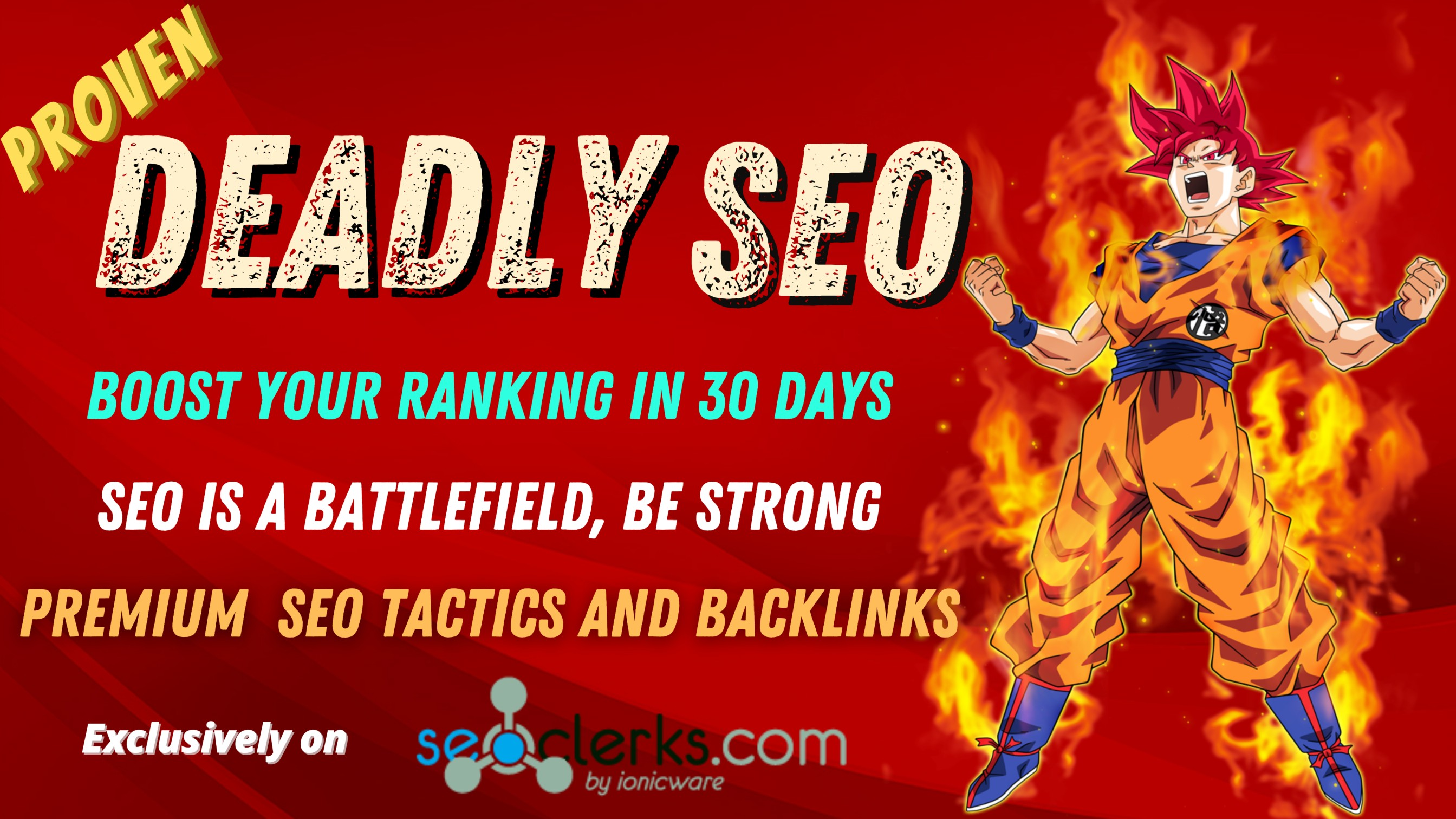 Deadly Seo - Boost your ranking in 30 days - Premium backlinks for Immense results- DA upto90
