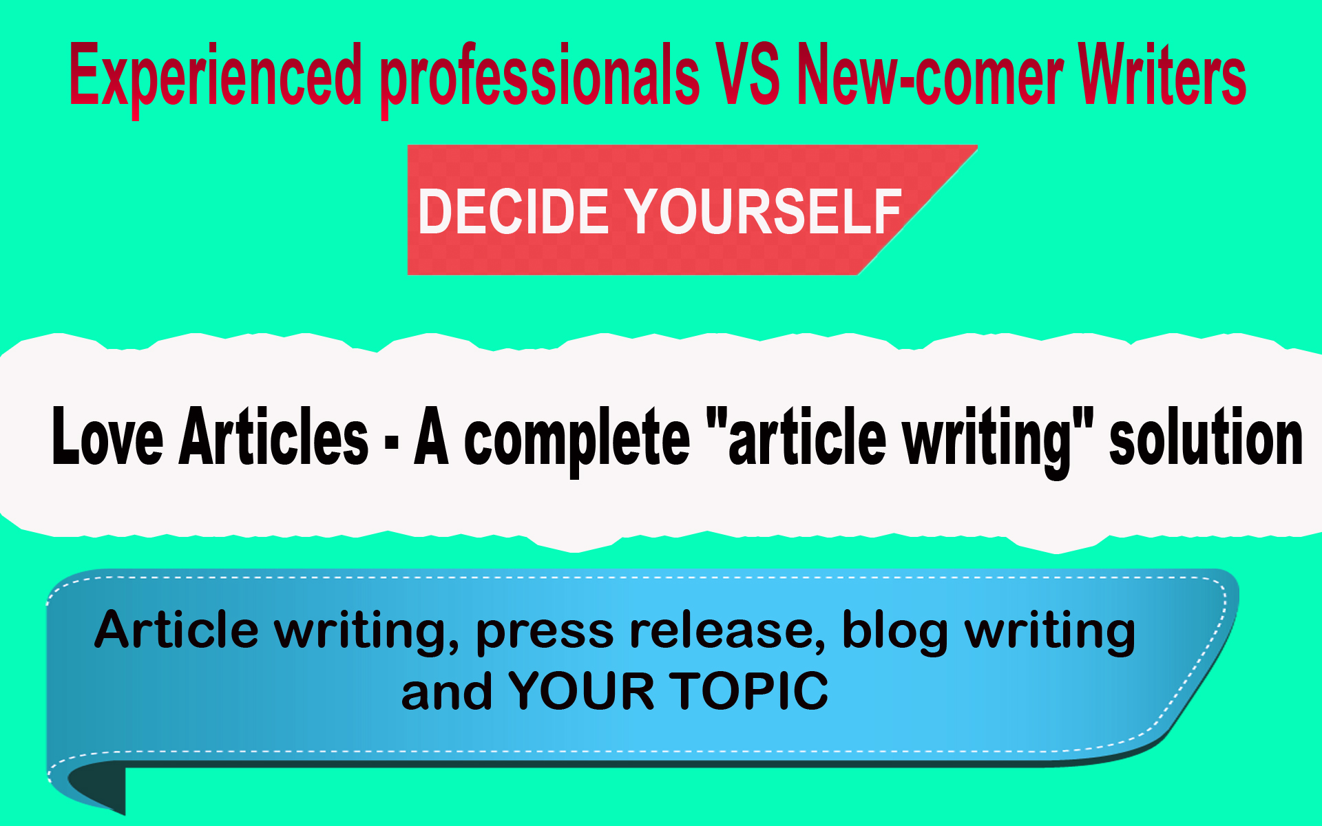 I will manually write 500 words engaging content and high quality seo article or blog post