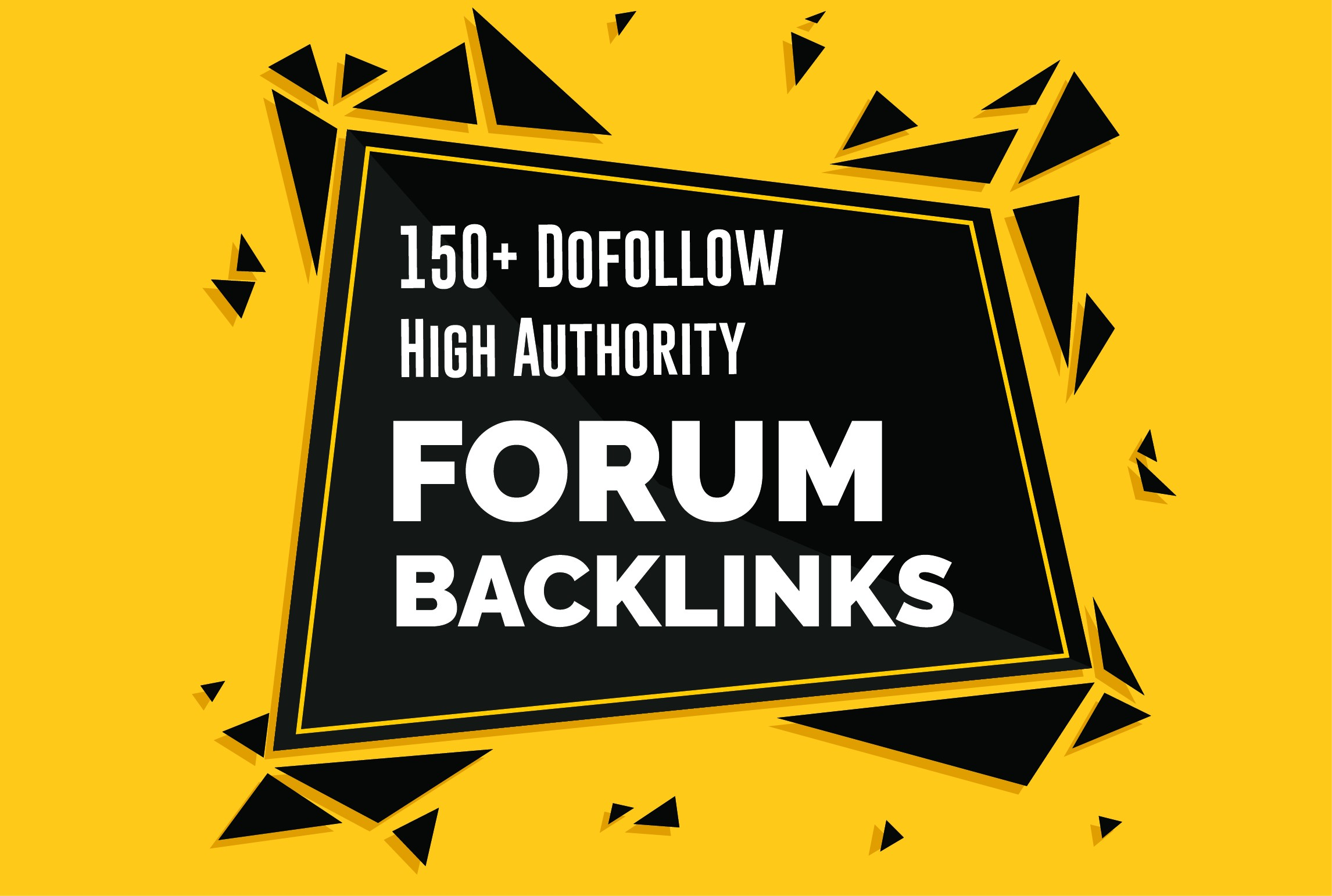I will do 150+ forum profile backlink High Authority SEO Backlinks Services