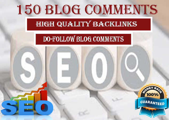 I will do 150 blog comments link building SEO service dofollow backlinks