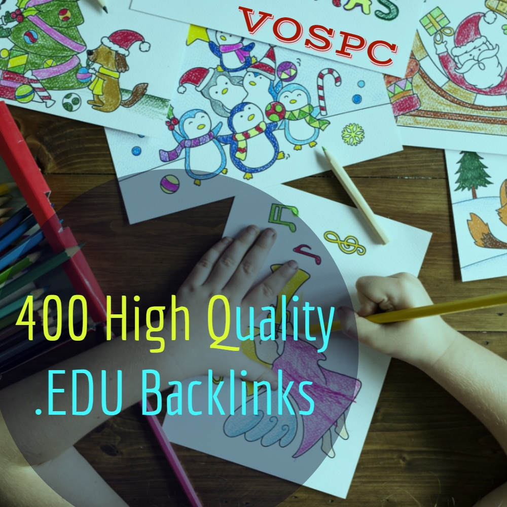 I will do High Authority 400 Edu Govt. Backlinks