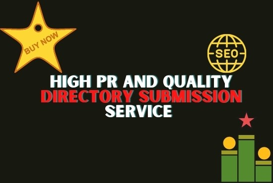 Provide 60 Domain authority Directory Submission Backlinks