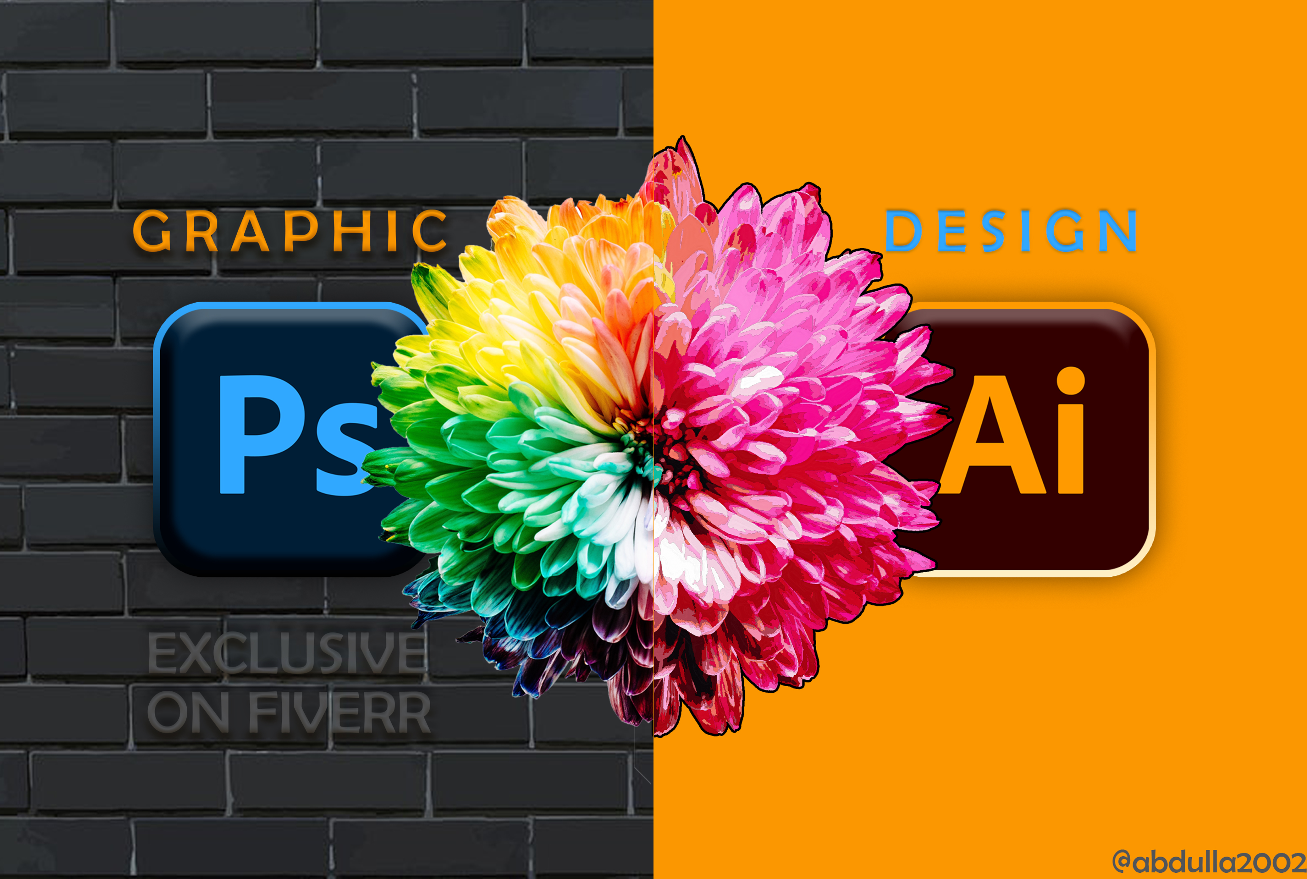 I will create any professional graphics design