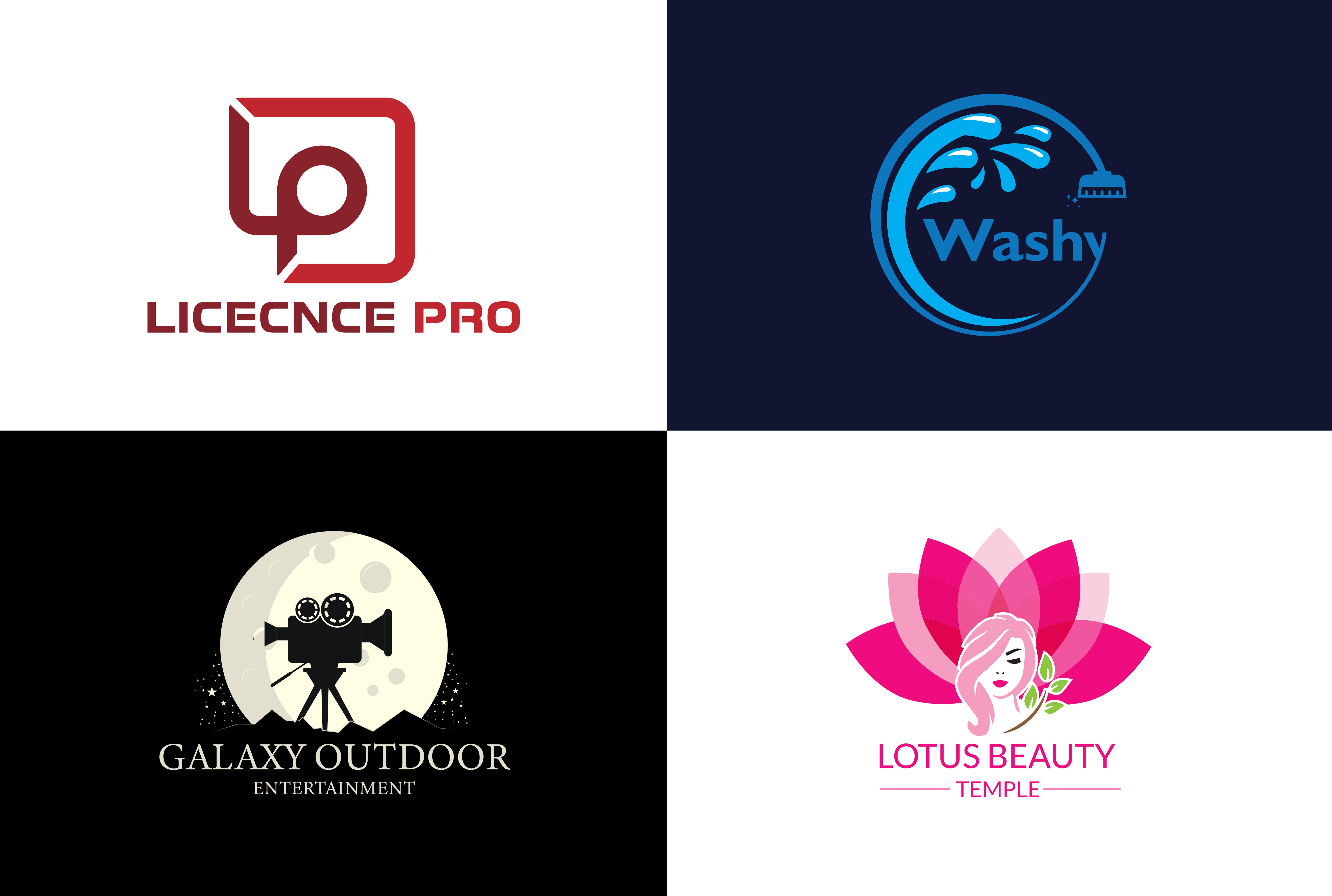 I will do best modern logo design