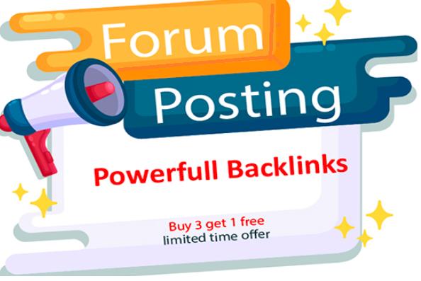 Create 5 High Da 20 to 30+ most powerful high quality backilnks