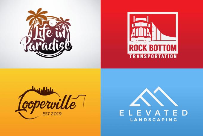 I will make minimalist modern and business logo design