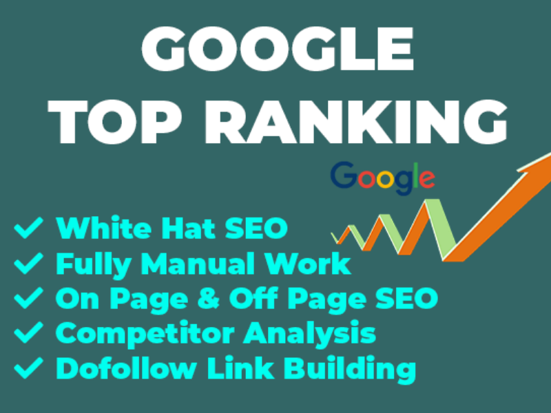 I will provide google top ranking expert SEO service 1 keyword