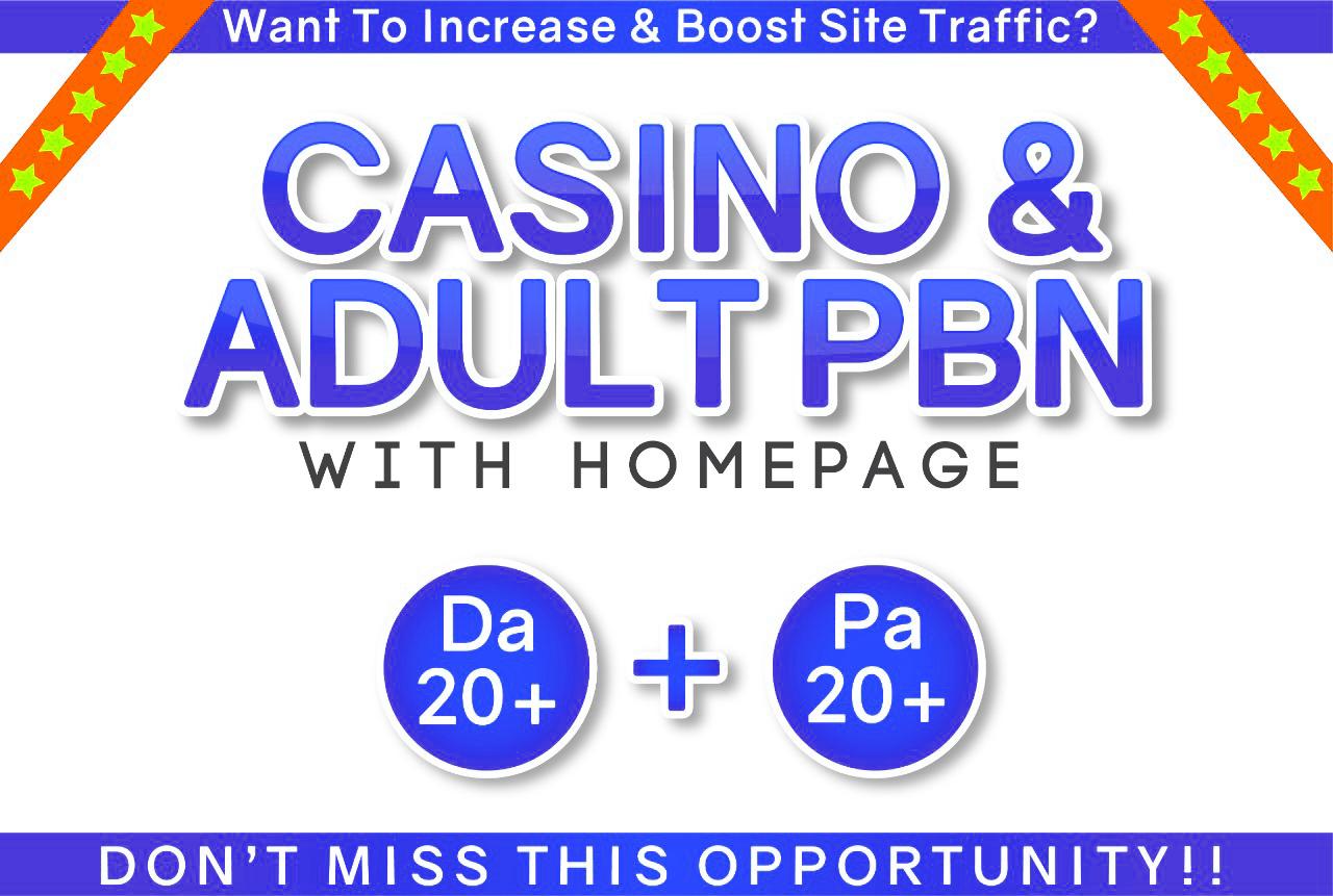 I will provide 150 PNB Backlinks for Casino Poker & Gambling