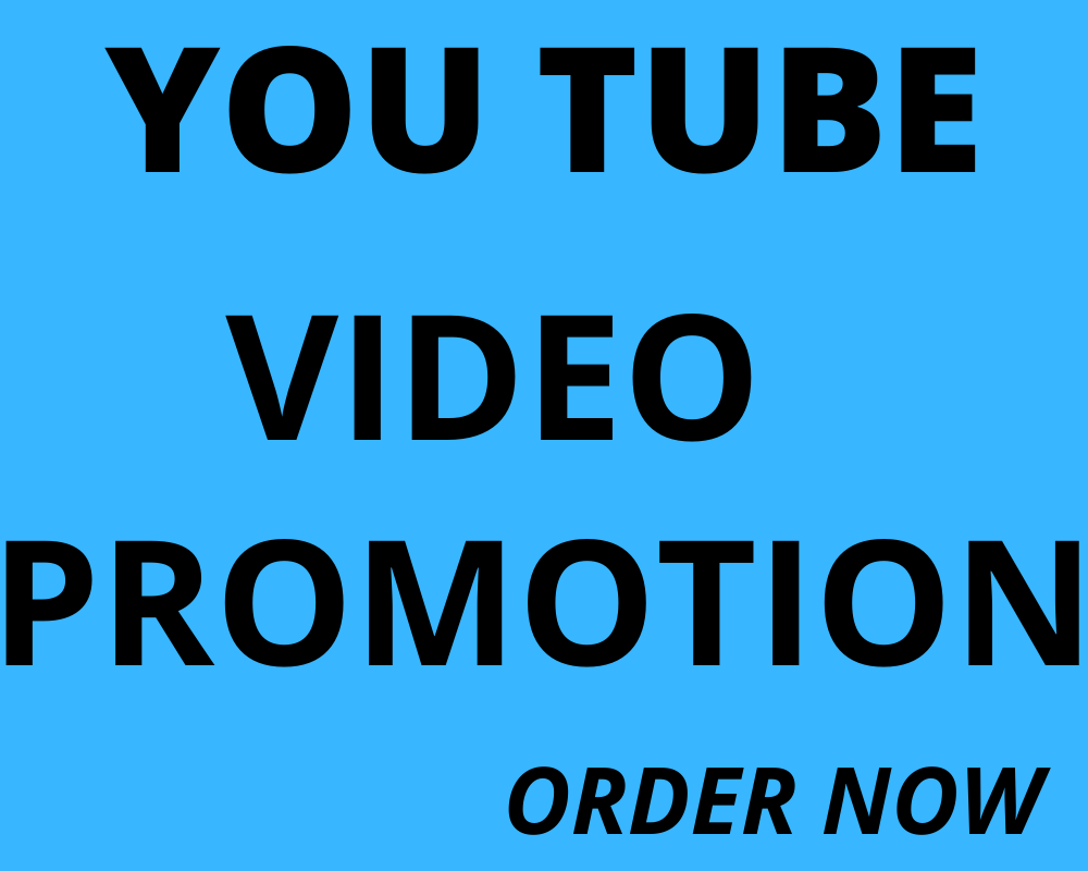 I will do amazing YouTube video promotion, video marketing, video SEO