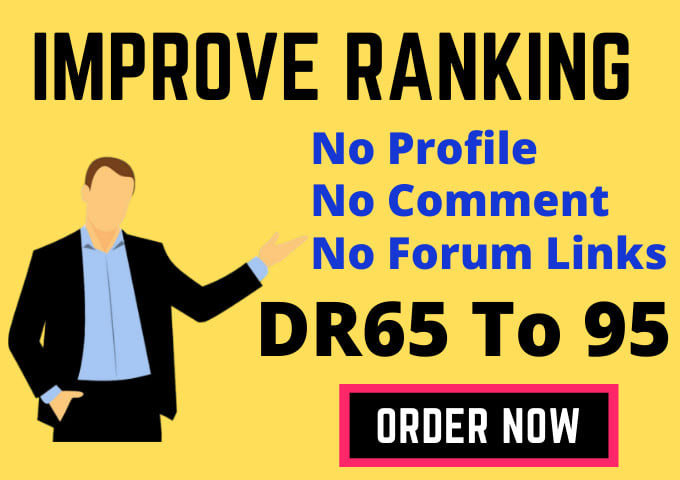 I will create high quality authority SEO dofollow backlinks link building