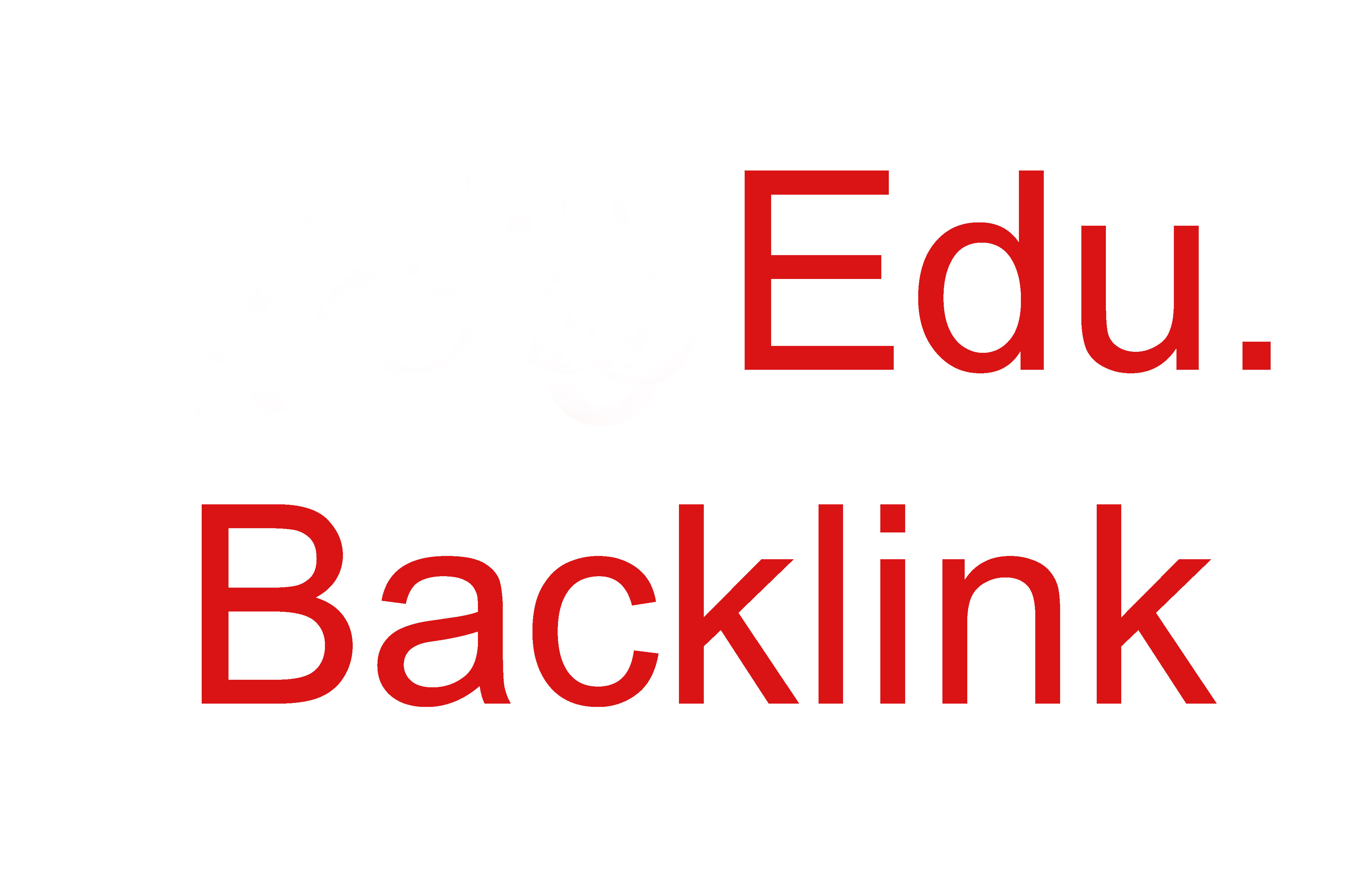 Create 100 edu gov high authority SEO link building backlink