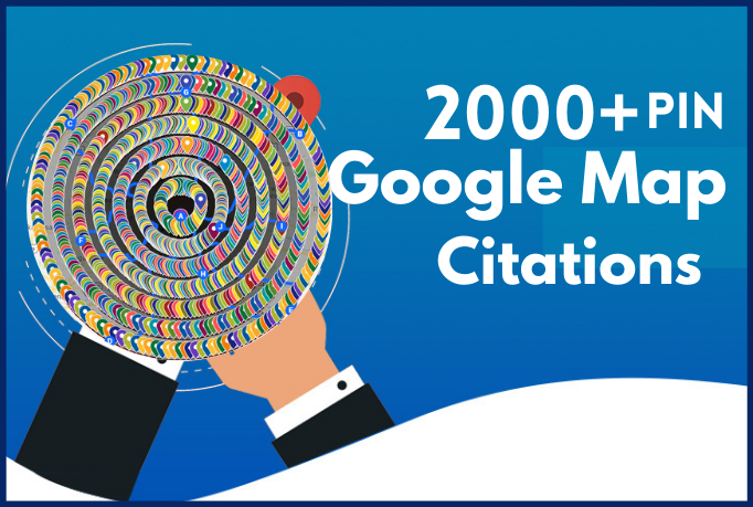I will build 2000 google maps citations for gmb ranking