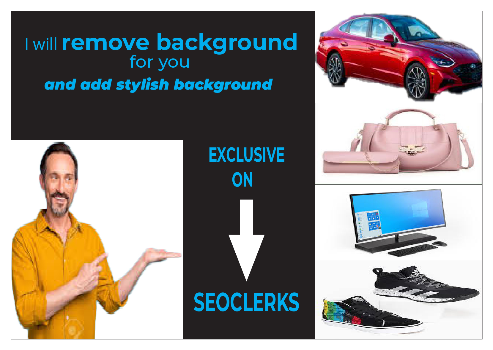 I will remove Background if you interest order now