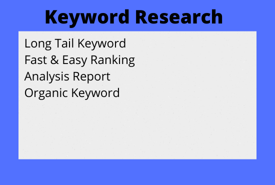 Will Deliver Profitable Keyword Research & Competitor Analysis for your Website Ranking on Google