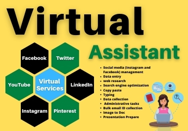 Trusted And Real Virtual Assistant to manage your social Pages