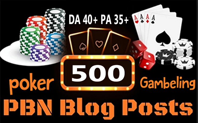 500+Parmanent CASINO/POKER/Gambling/Sports Betting/judi bola related online unique site