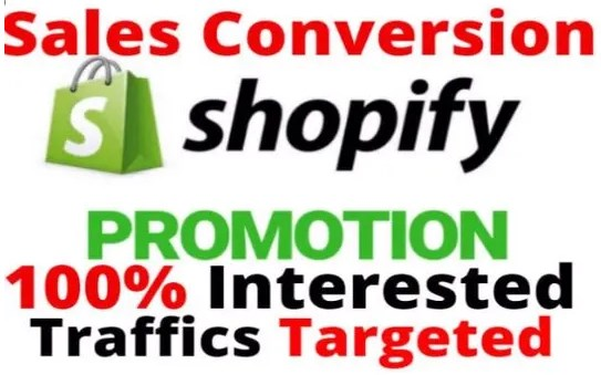 Promote Shopify Store,  Affiliate,  Website to Targeted USA Audience