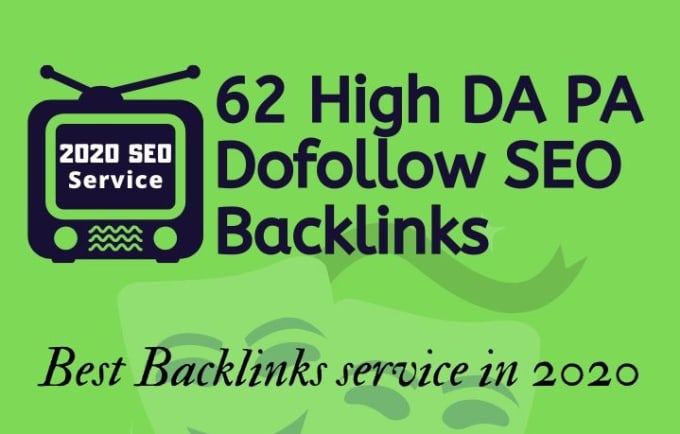 I will do 62 high da pa SEO dofollow backlinks 150 for link building