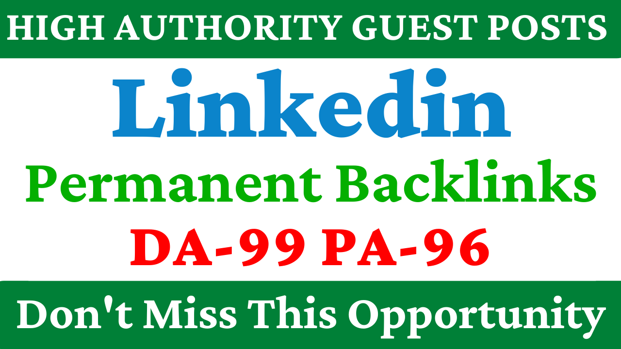 Write and Publish Guest Post Opportunity on LinkedIn 1200+ Connection account Get More visitor