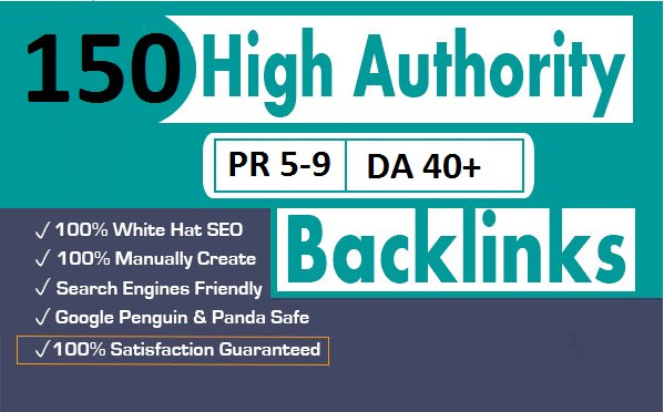 CREATE MANUALLY DA 35+ PA35+ web 2.0 150 Powerful BACKLINKS 150 unique site