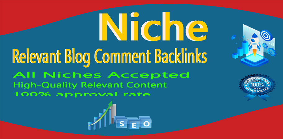 I will create 100 Niche relevant Blog comments Backlinks high DA, PA Sites