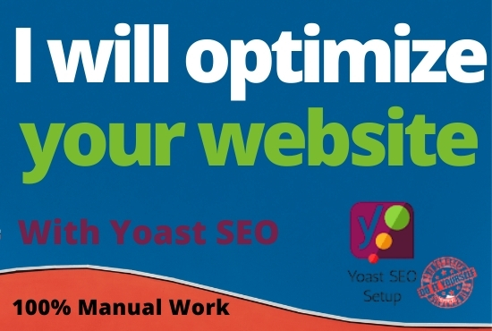 I will do complete on-page and Yoast technical SEO optimization of WordPress site