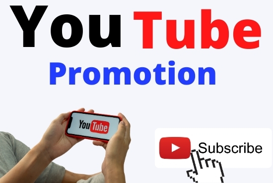 Real You Tube promotion and an authentic audience for you.