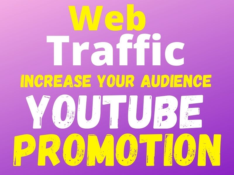 increase your organic web traffic and youtube audience