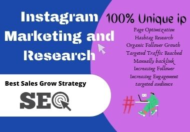 I will do Instagram Hashtag Research and grow targeted traffic