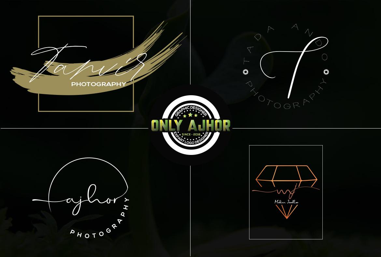 i will do signature logo design