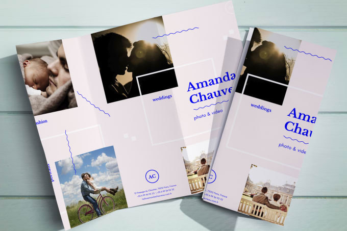 I will design creative flyers and bifold brochure
