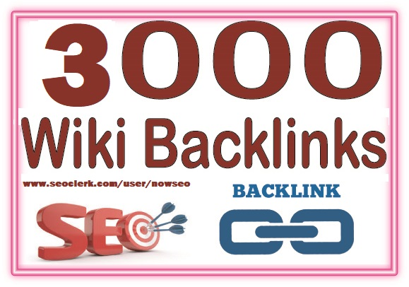 3,000 Wiki Articles from Wiki Backlinks