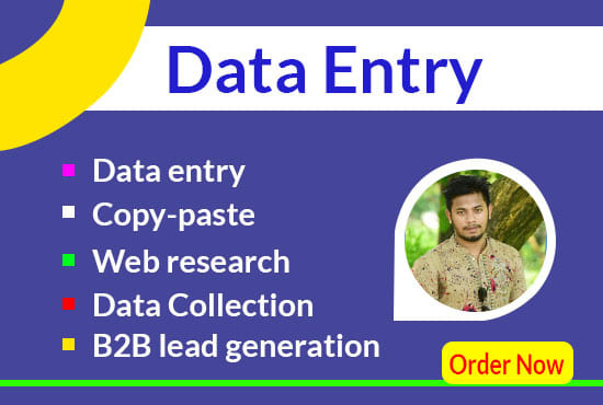I will do accurate data entry,  copy paste,  and fast typing work