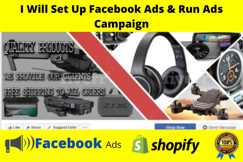 I will be your Facebook ads manager.