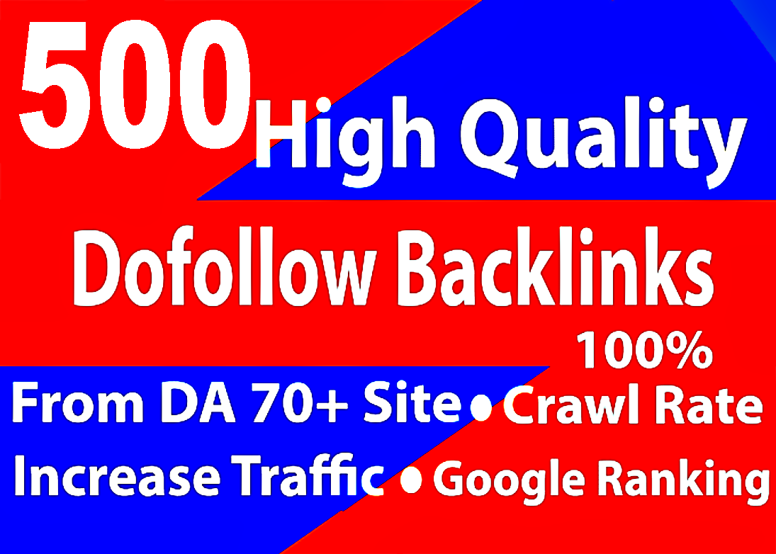 I will provide you 500 high quality manually create blog comment backlinks.